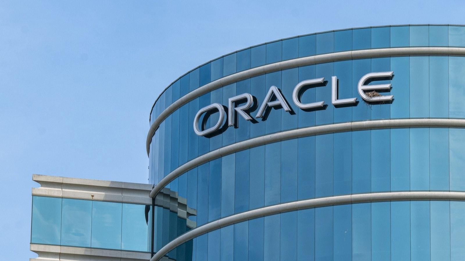 Oracle headquarters. Credit: Bloomberg