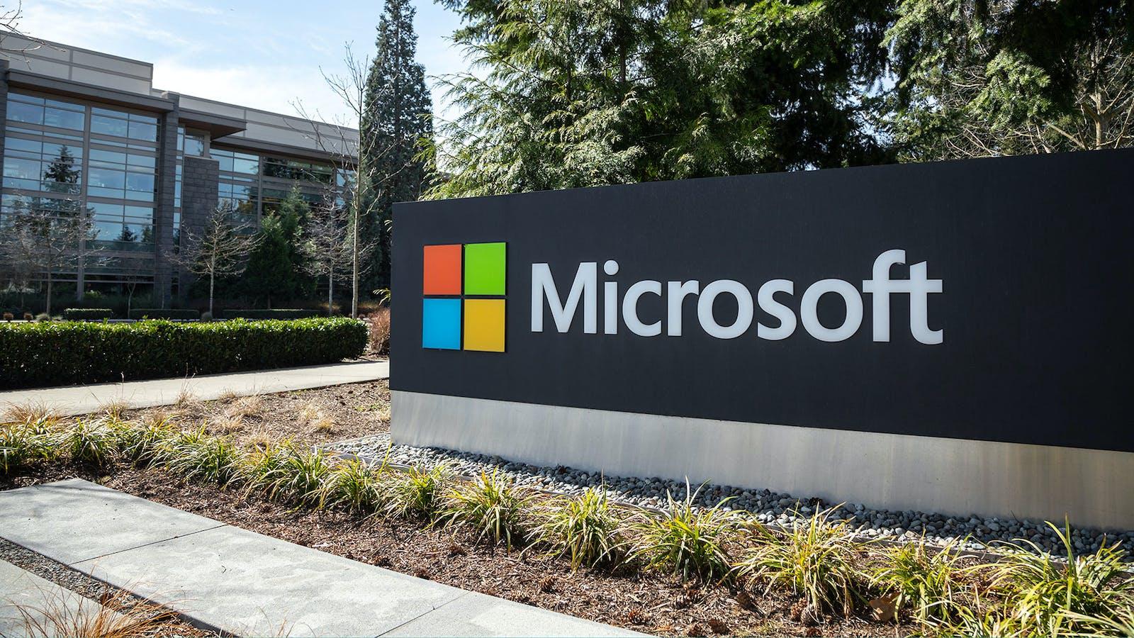 Microsoft headquarters in Redmond, Washington. Photo by Shutterstock.