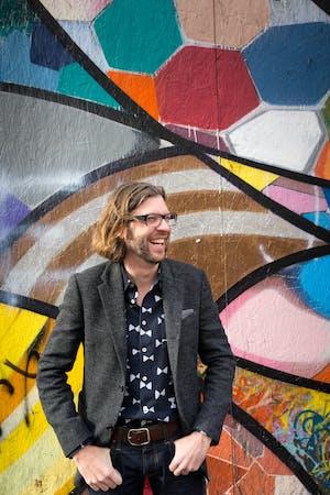 Goji developer Josh Williams. Photo by Tim Van Damme.