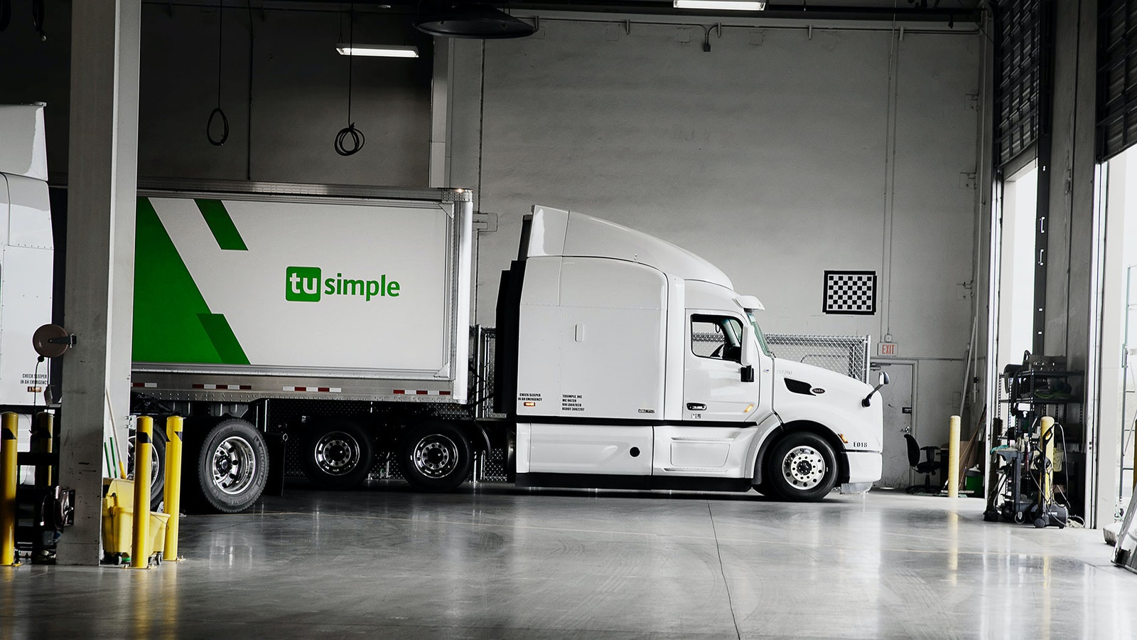 A TuSimple facility in Tucson. Photo by TuSimple