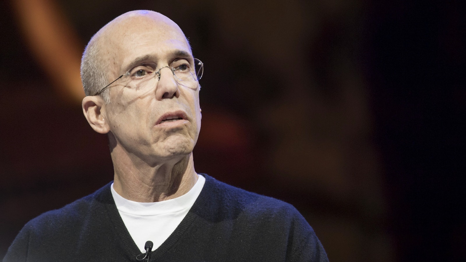 Jeffrey Katzenberg. Photo by Bloomberg