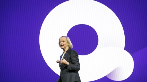 Quibi CEO Meg Whitman. Photo by Bloomberg