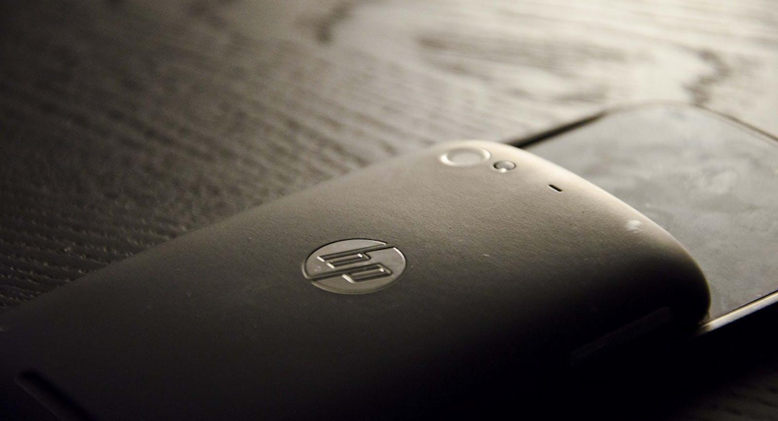 An HP Palm Pre, circa 2011. Credit: Ken Hawkins