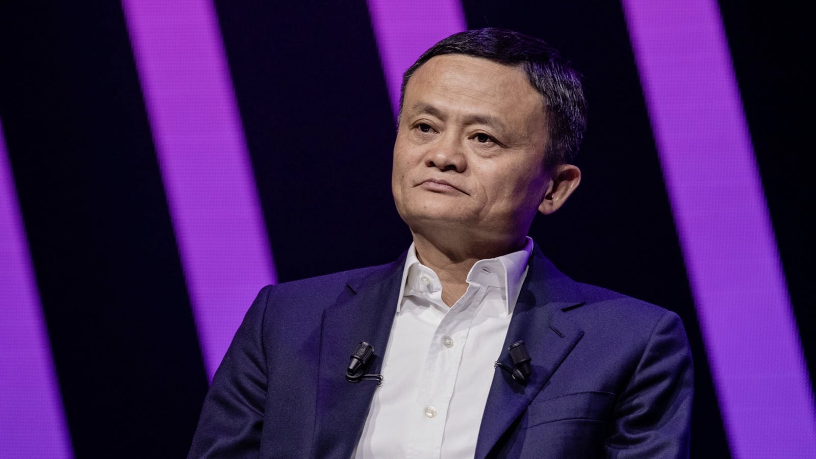 Jack Ma, co founder of Alibaba and the controlling shareholder of Ant. Photo by Bloomberg