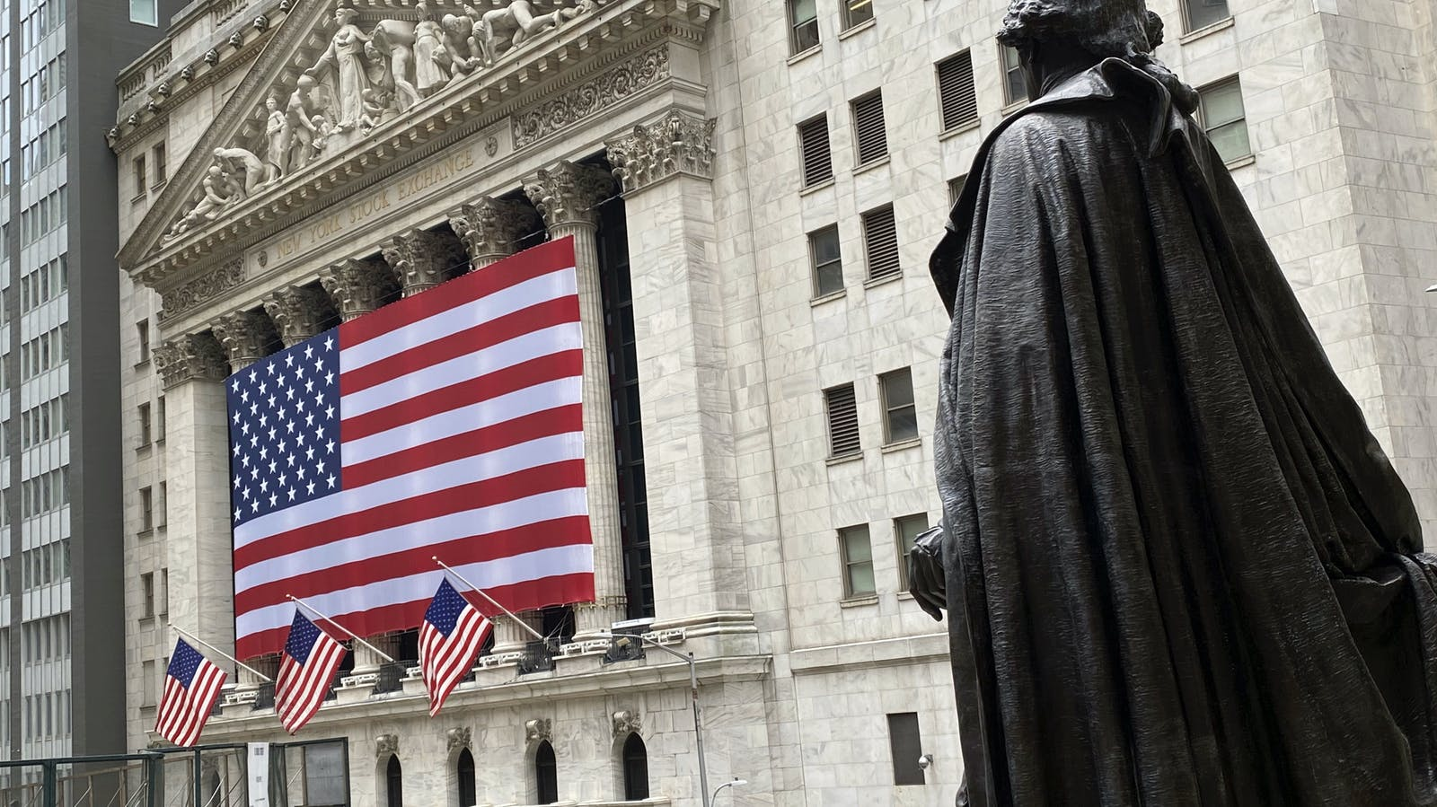 The New York Stock Exchange. Photo by AP