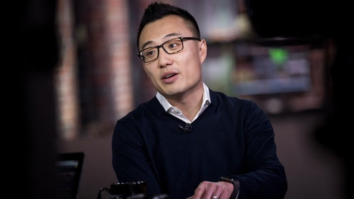 DoorDash CEO Tony Xu. Photo by Bloomberg