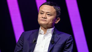 Alibaba founder Jack Ma. Photo by Bloomberg