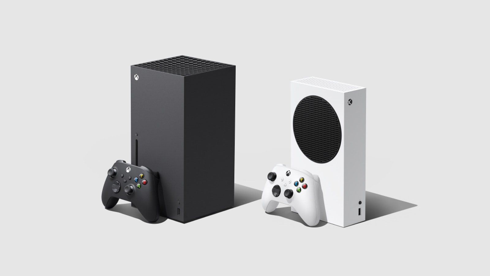 Microsoft's Xbox Series X and S consoles. Photo by Microsoft