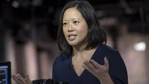 Poshmark co-founder Tracy Sun. Photo by Bloomberg.