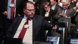 Salesforce's Marc Benioff. Photo by Bloomberg