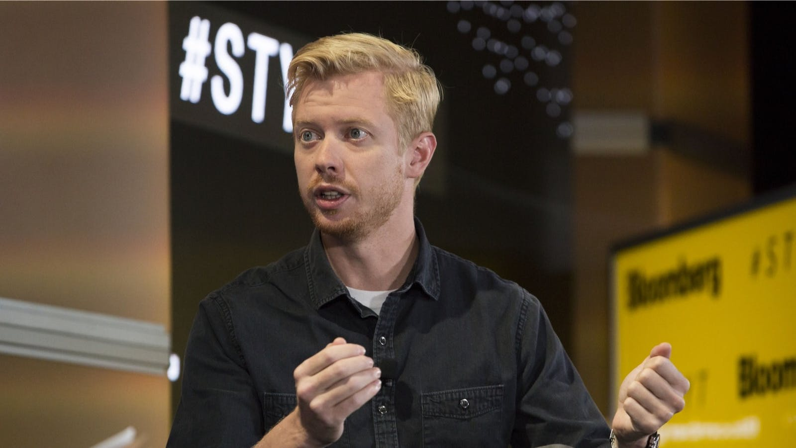 Steve Huffman, chief executive officer and co-founder of Reddit Inc., in 2018. Photo: Bloomberg