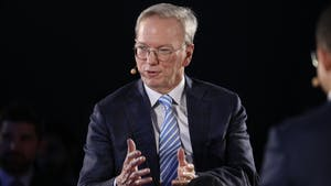 Two time CEO Eric Schmidt. Photo by Bloomberg.