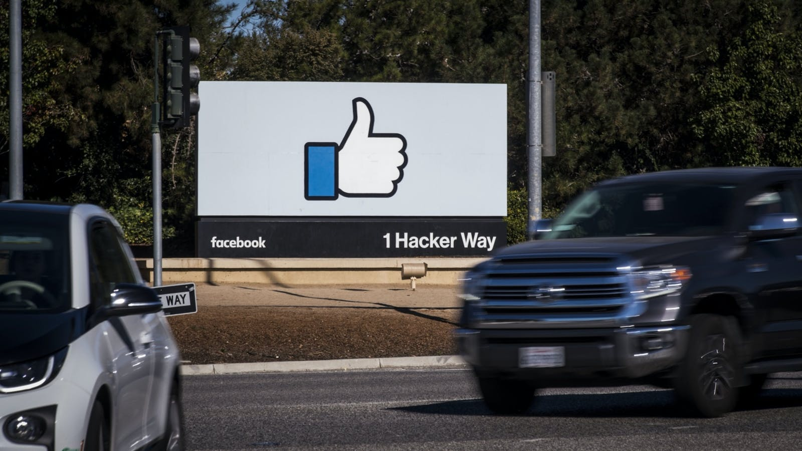 Facebook's Menlo Park, Calif., campus. Photo by Bloomberg