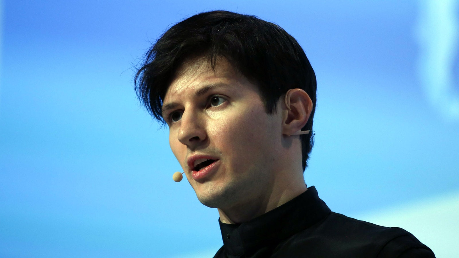 Pavel Durov, CEO of Telegram, in 2016. Photo by Bloomberg