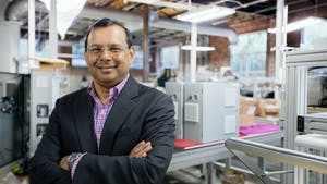 SoftWear Automation CEO Raj Rajan. Photo provided by the company