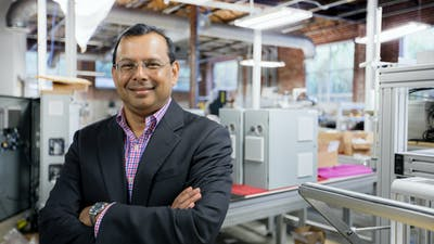 SoftWear Automation CEO Raj Rajan. Photo provided by the company