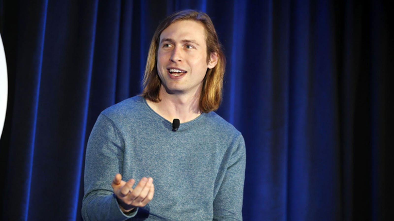 Zach Perret, CEO and co-founder of Plaid, spoke during the Silicon Slopes Tech Summit in Salt Lake City last year. Photo: Bloomberg