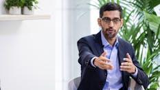 Alphabet CEO Sundar Pichai. Photo by Bloomberg