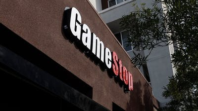 A GameStop store in California. Photo by Bloomberg