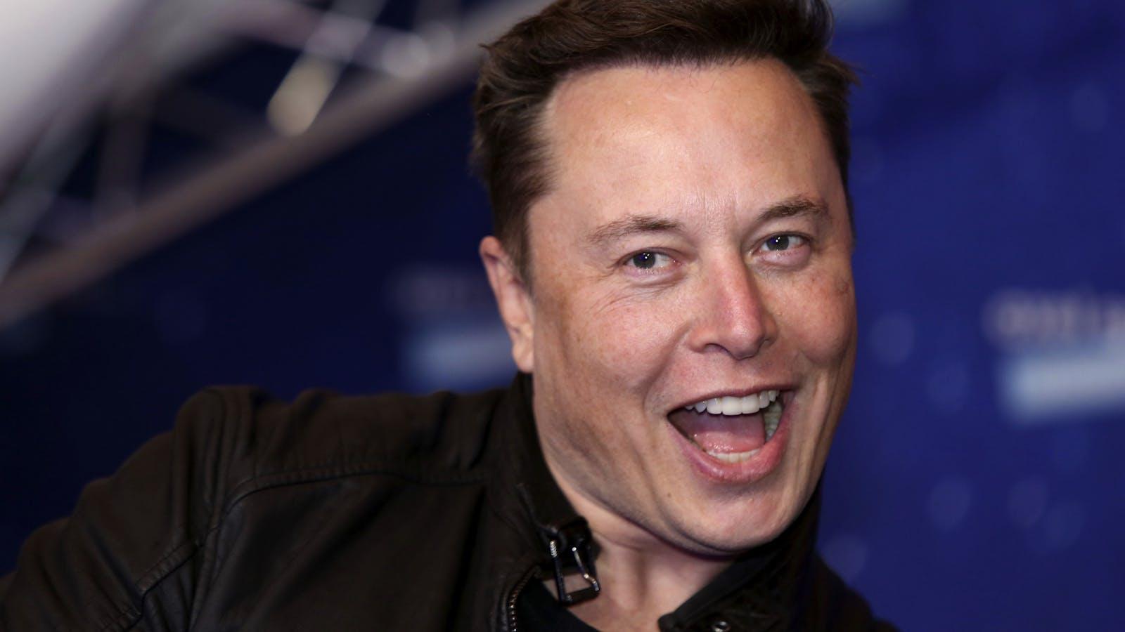 Elon Musk. Photo by Bloomberg