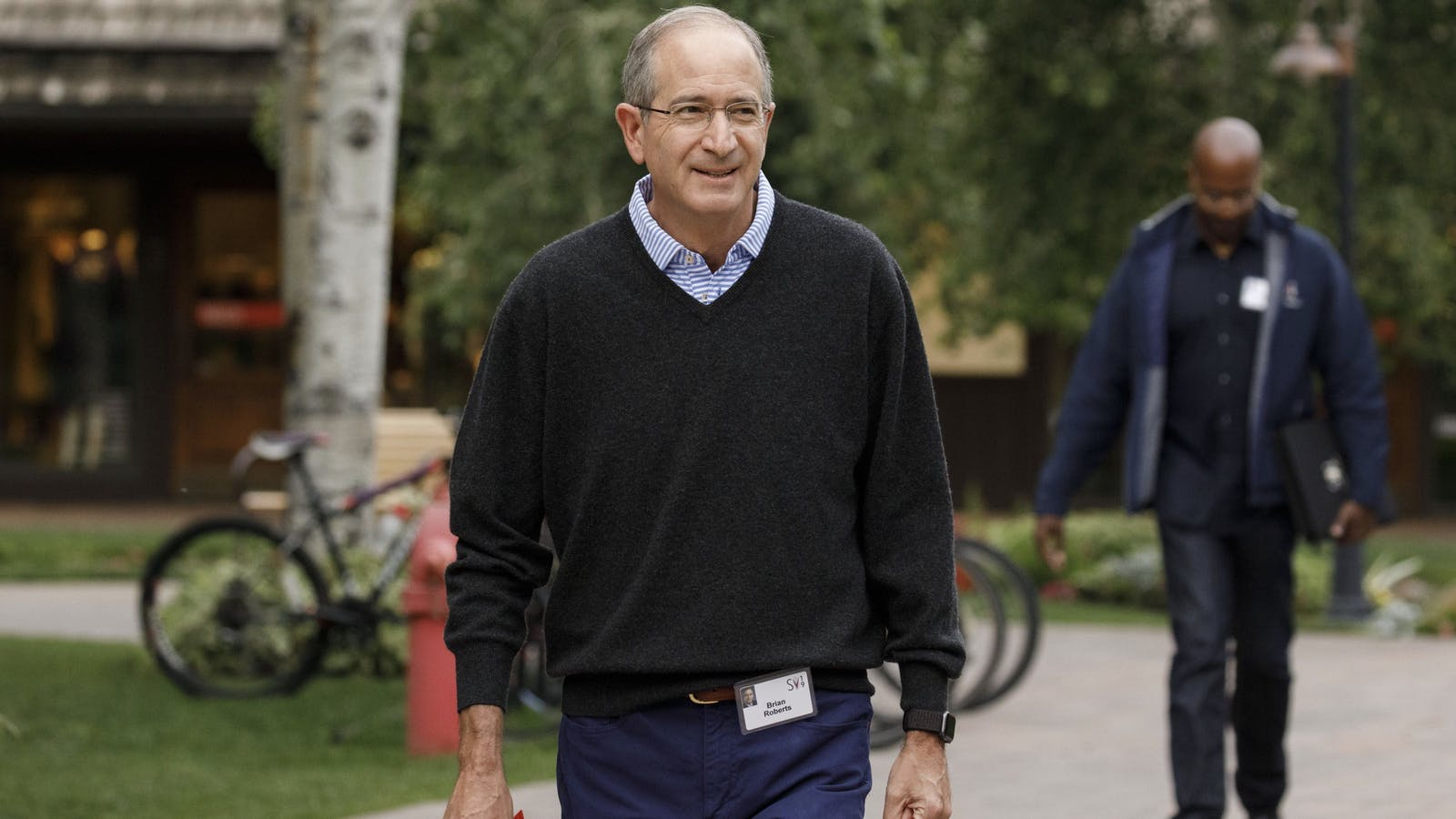 Comcast CEO Brian Roberts. Photo by Bloomberg