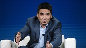 Zoom CEO Eric Yuan. Photo by Bloomberg