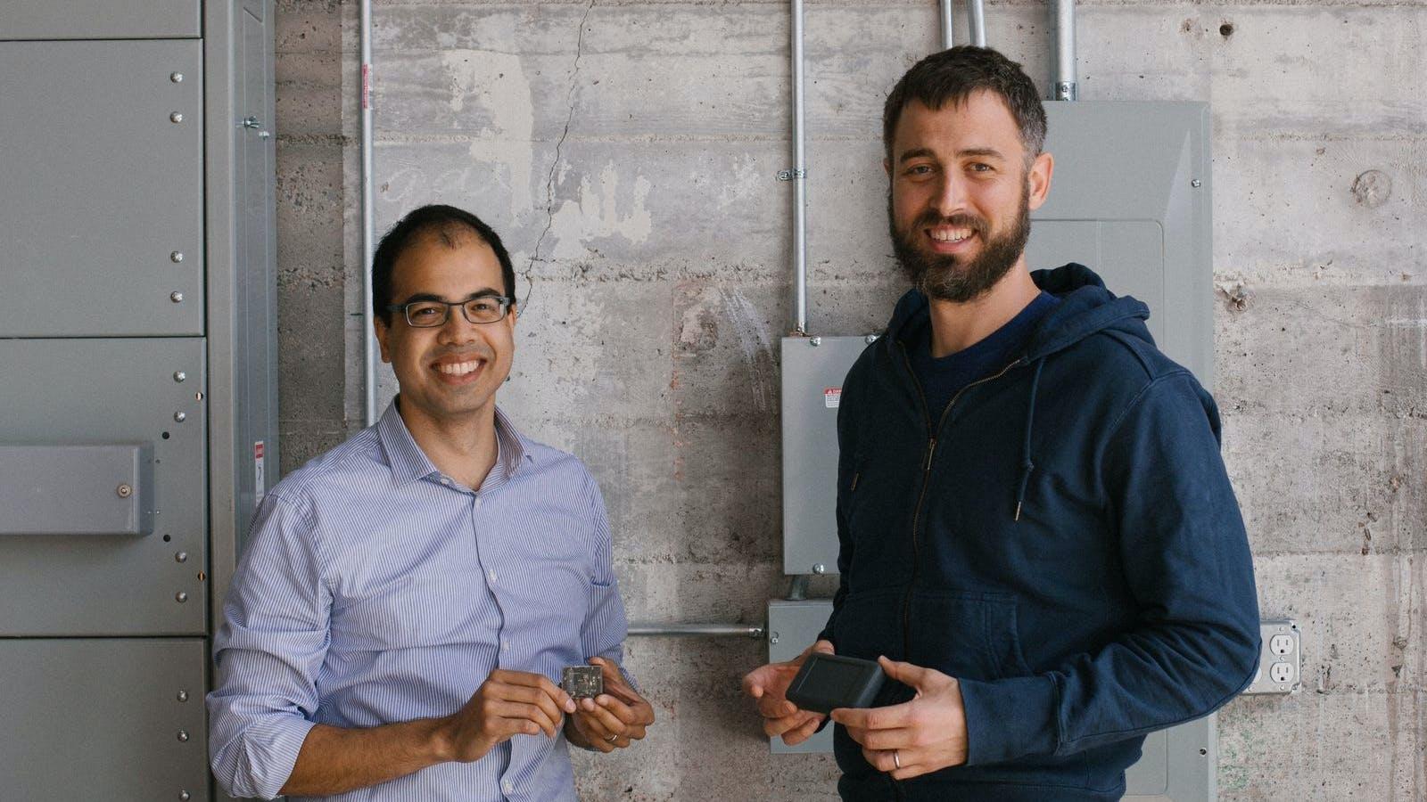 Samsara co-founders Sanjit Biswas (left) and John Bicket. Photo provided by Samsara