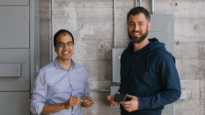 Samsara co-founders Sanjit Biswas (left) and John Bicket. Photo provided by Samsara