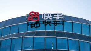 Kuaishou Technology headquarters in Beijing. Photo by Bloomberg.