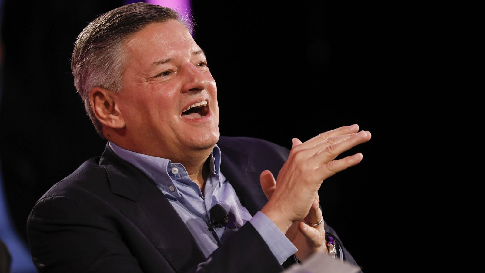 Netflix Co-CEO Ted Sarandos. Photo by Bloomberg.