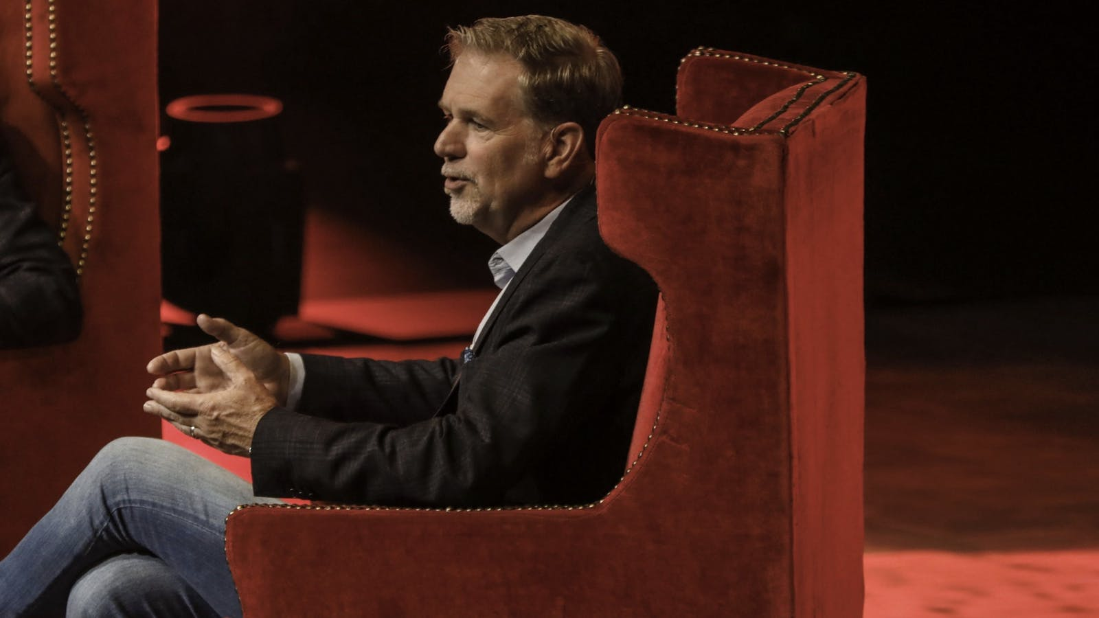 Netflix Co-CEO Reed Hastings. Photo by Bloomberg.