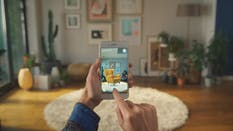 An Ikea mobile AR app for furniture shopping. Photo from Ikea