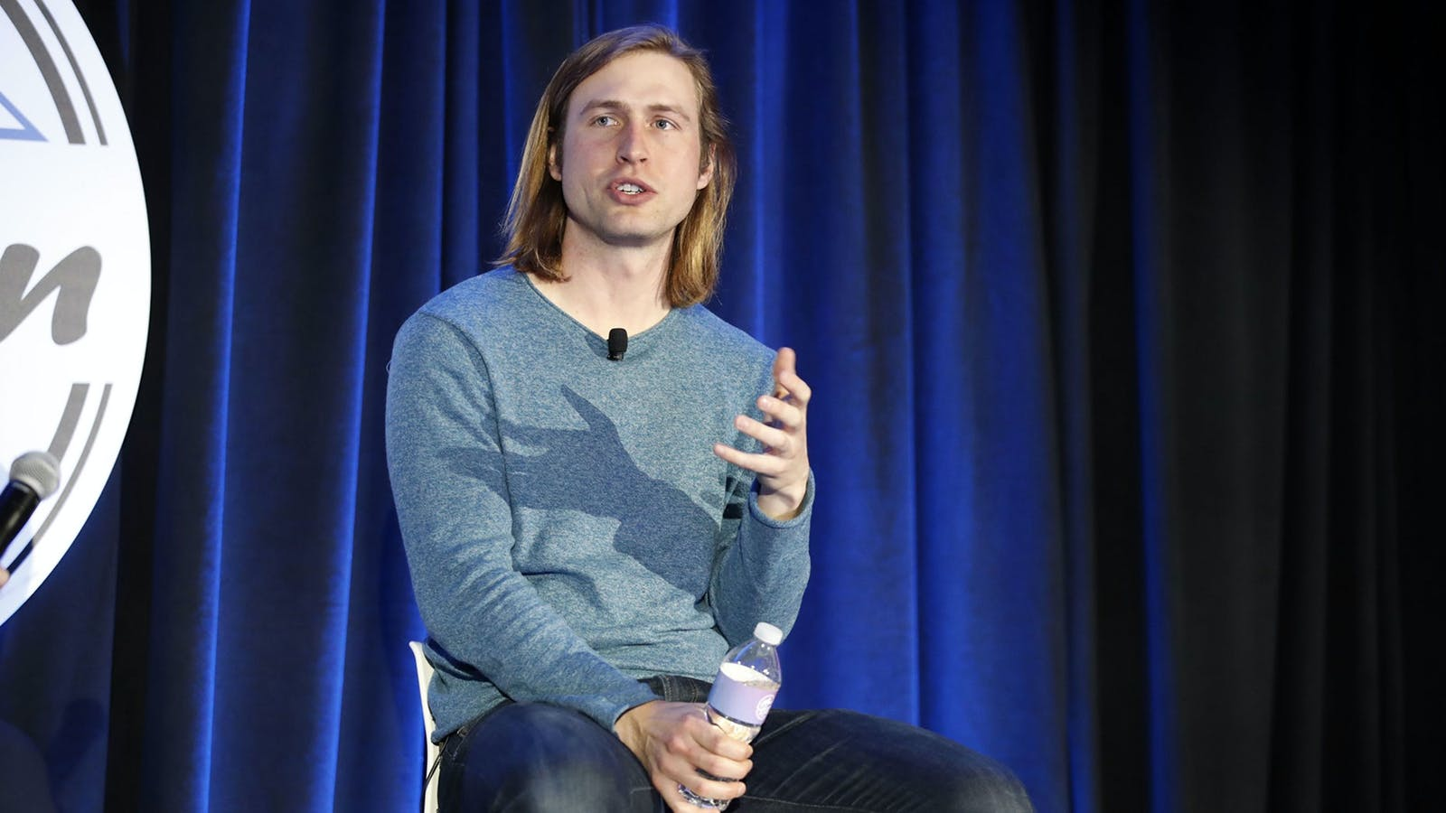 Zach Perret, CEO and co-founder of Plaid, speaks during the Silicon Slopes Tech Summit in Salt Lake City in 2020.