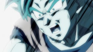 "Screen grab of  ""Dragon Ball Super"" from Crunchyroll."