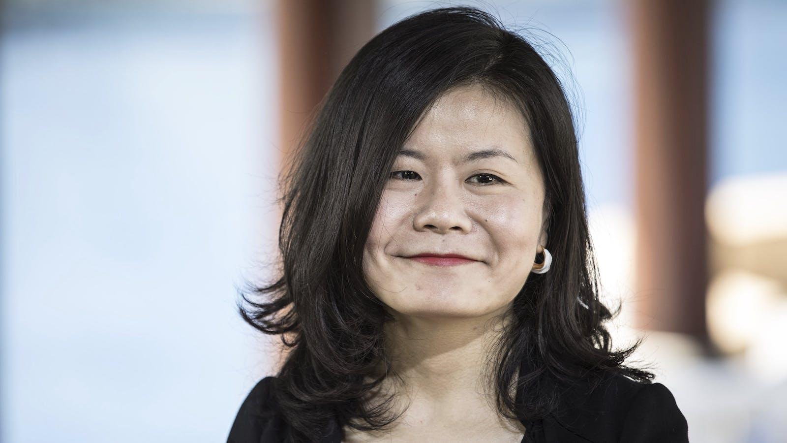 Xiaohongshu co-founder Miranda Qu. Photo by Bloomberg.