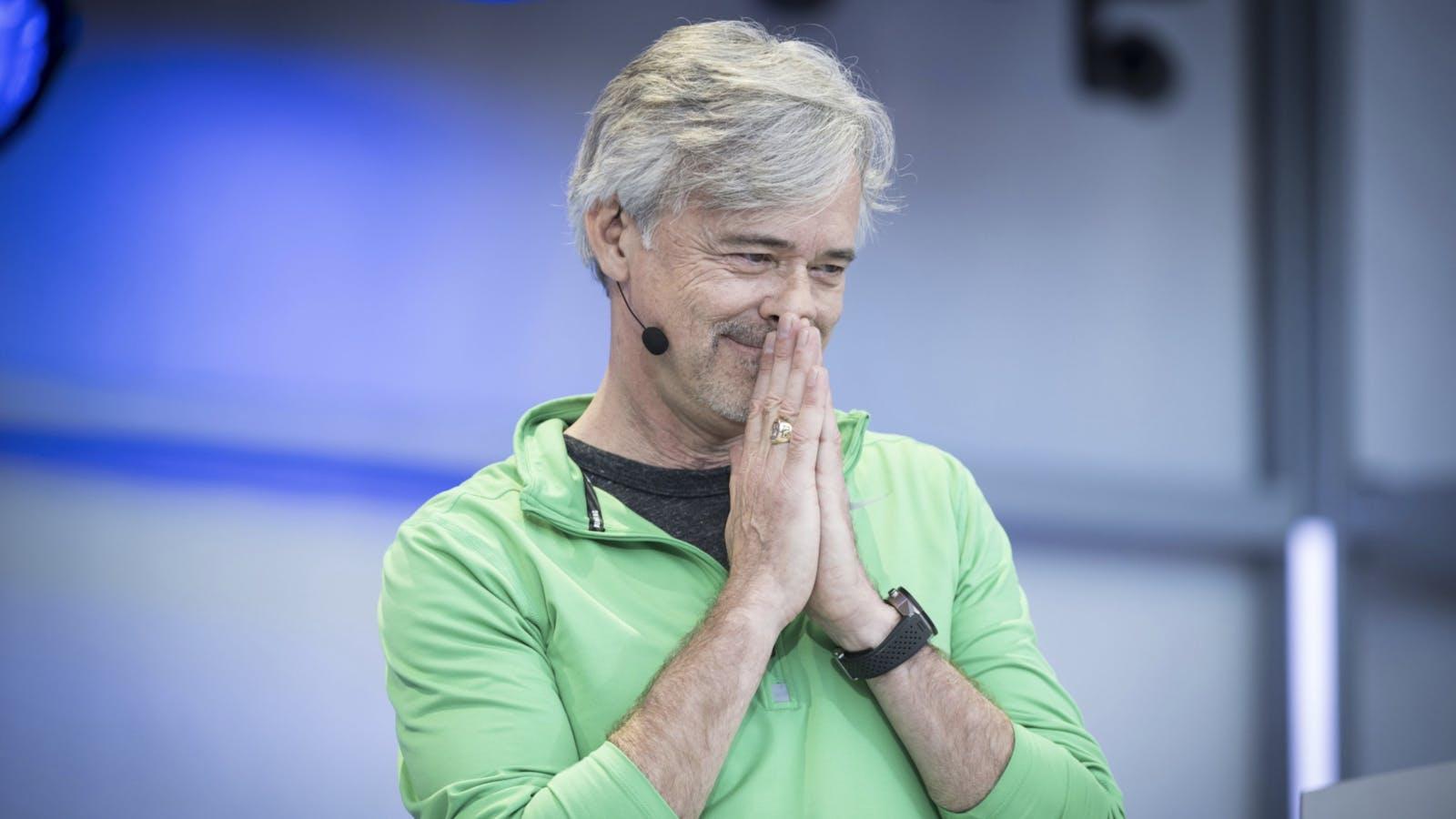 Waymo CEO John Krafcik. Photo by Bloomberg.