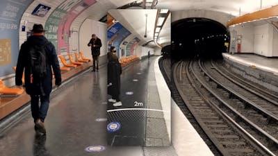 An image from Google's new Sodar AR app. Photo by Google