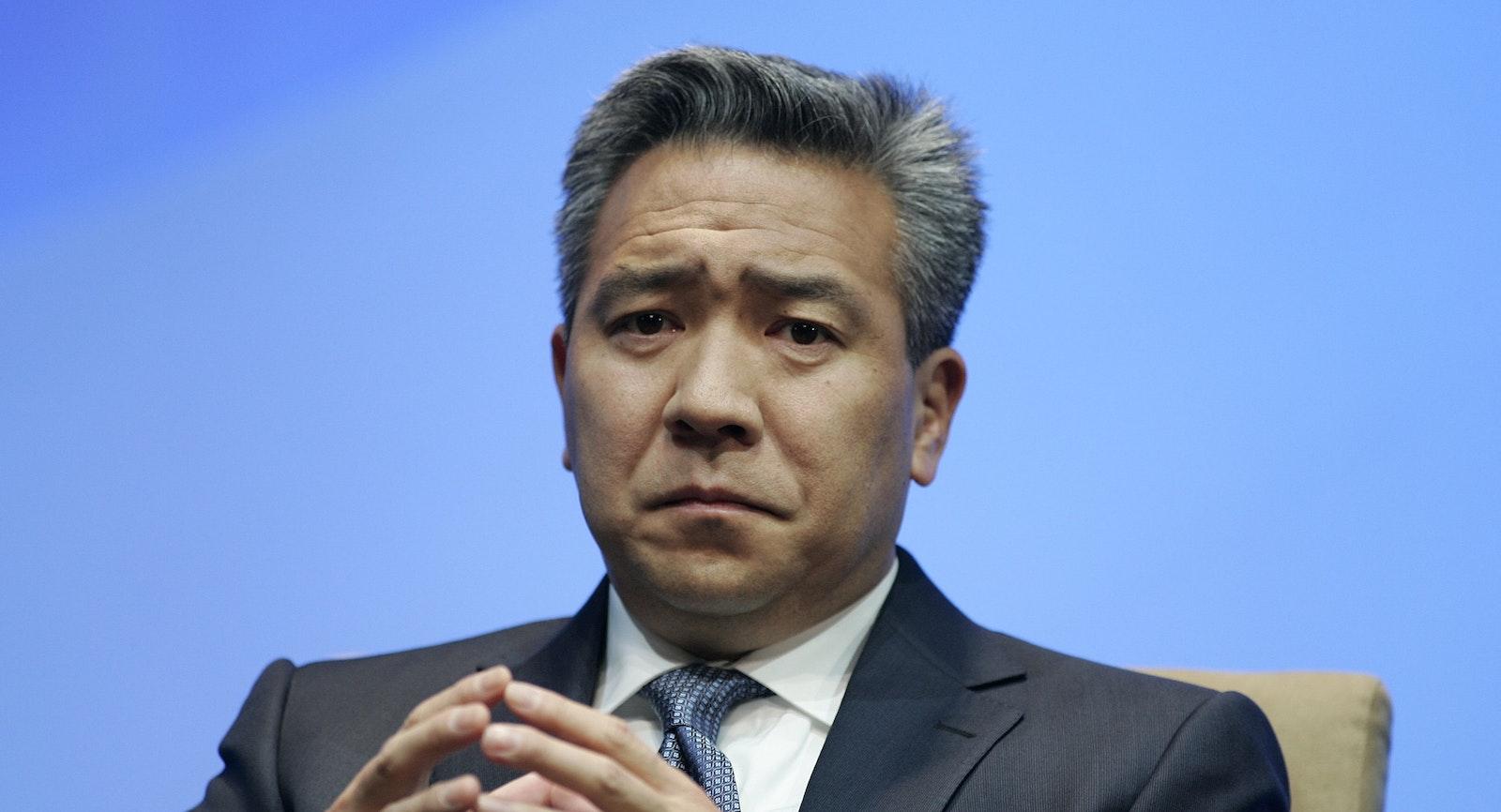 Warner Bros chief Kevin Tsujihara; photo by Bloomberg