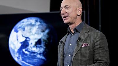 Amazon founder Jeff Bezos. Photo by Bloomberg
