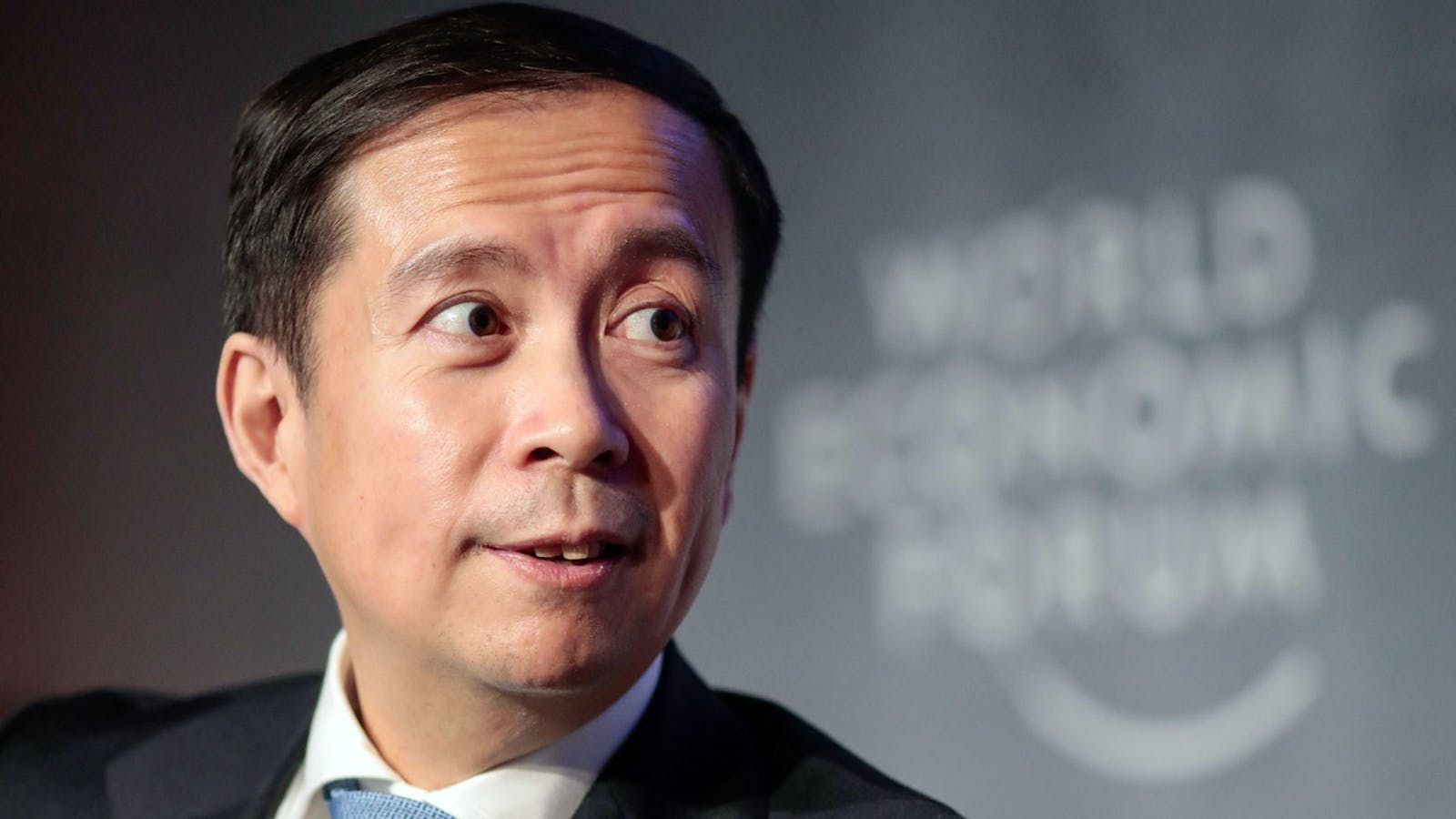 Daniel Zhang, CEO of Alibaba. Photo by Bloomberg