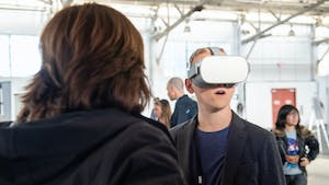 An AR/VR-focused GDC event in San Francisco in 2019. Image: GDC