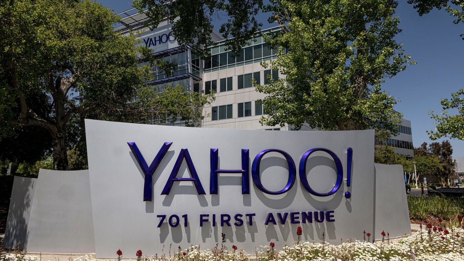 Yahoo's headquarters in 2018. Photo by Bloomberg