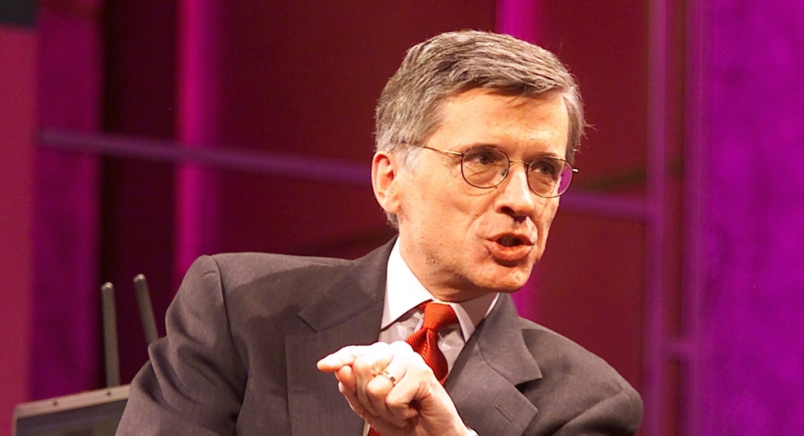 FCC Chairman Tom Wheeler. Photo by Bloomberg.