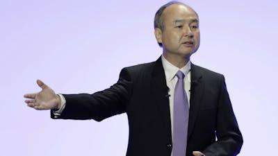 SoftBank CEO Masa Son. Photo by Bloomberg