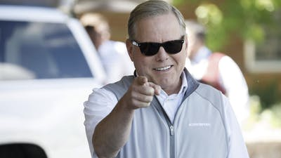 Discovery CEO David Zaslav. Photo by Bloomberg.