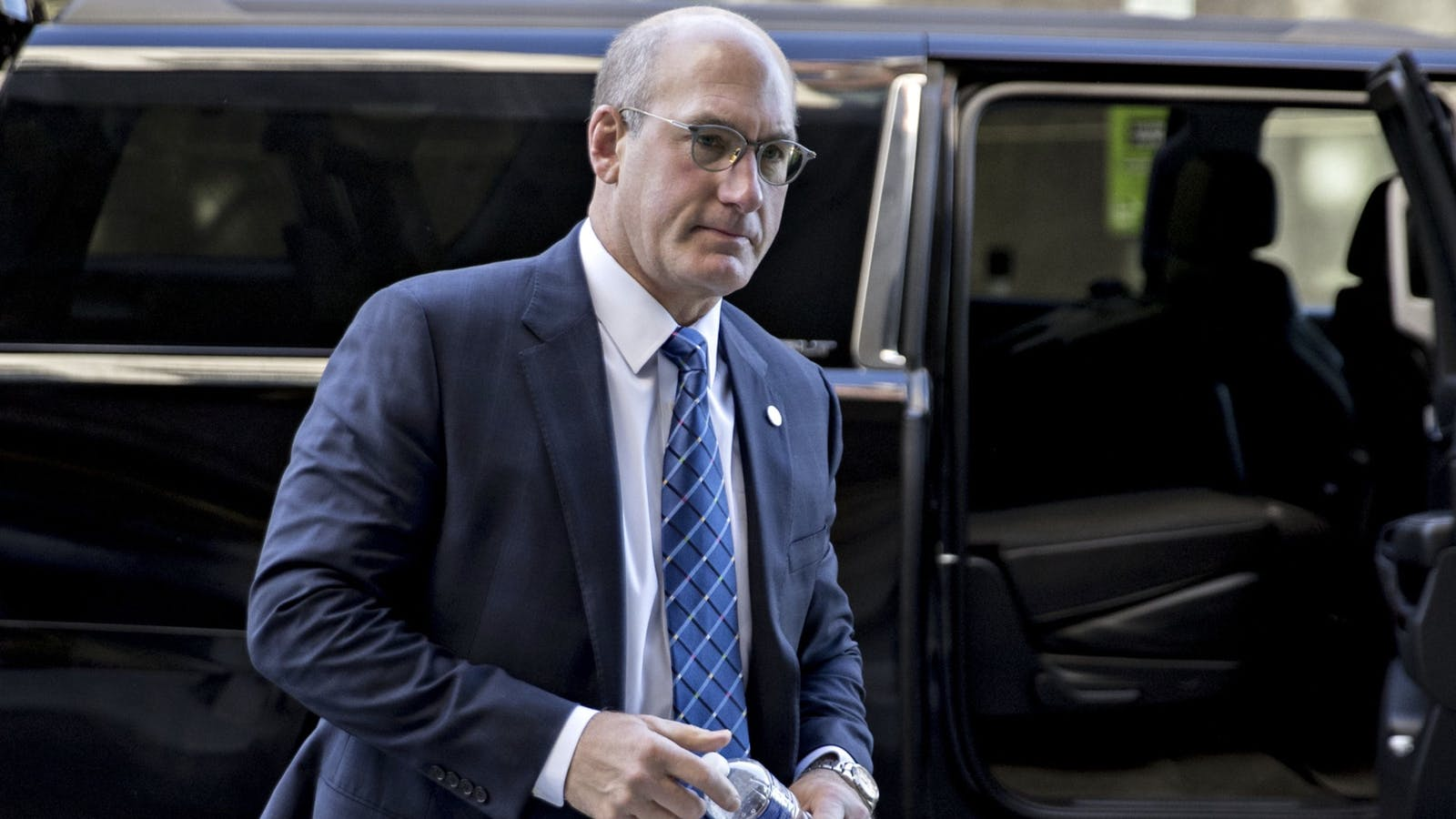 AT&T CEO John Stankey. Photo by Bloomberg.