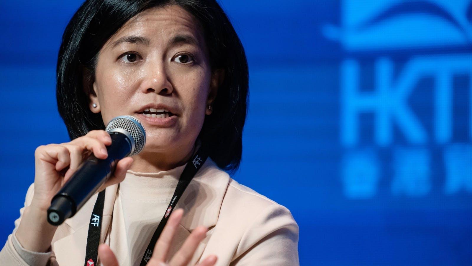 Nisa Leung. Photo by Bloomberg.