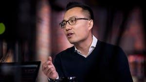 DoorDash CEO Tony Xu. Photo: Bloomberg