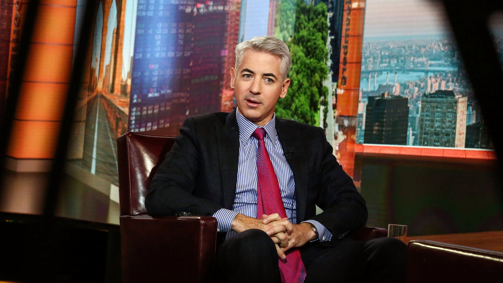 Bill Ackman. Photo by Bloomberg