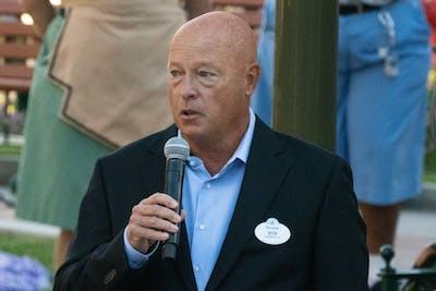 Disney CEO Bob Chapek. Photo by Bloomberg